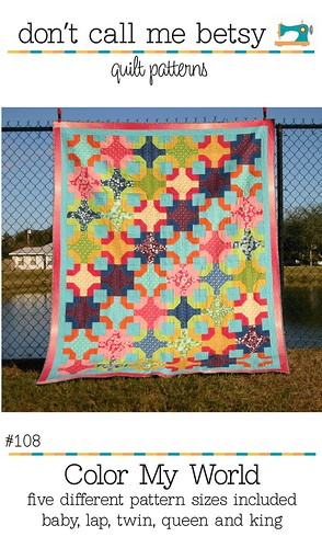 New pattern available today! Color My World