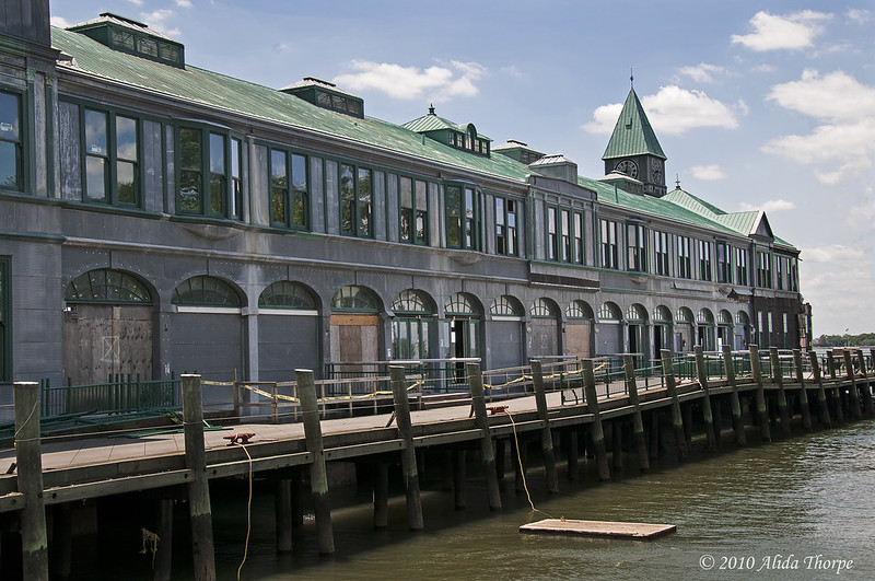 Pier A restoration 2010