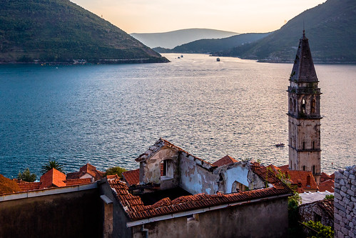 tower montenegro kotor perast crnagora