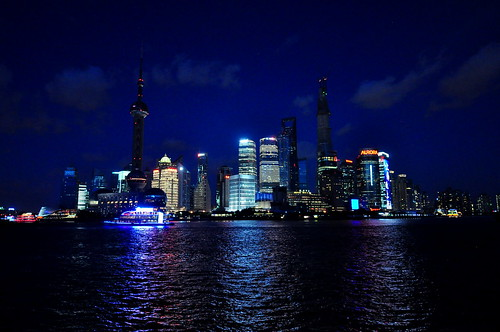 Shanghai, China - Pudong Skyline
