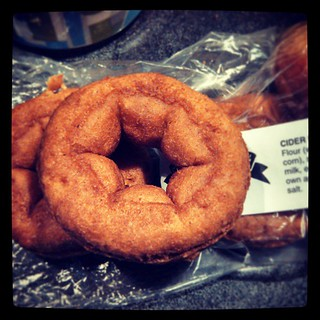 Day 18 #yarnpadc Guilty Pleasure - in the fall, it's #ciderdonuts #yumo #sodelicious #newengland