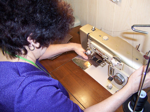 commercial sewing with 1967 White machine
