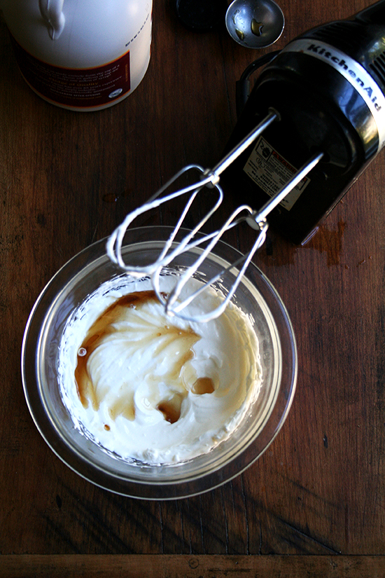 Greek maple yogurt