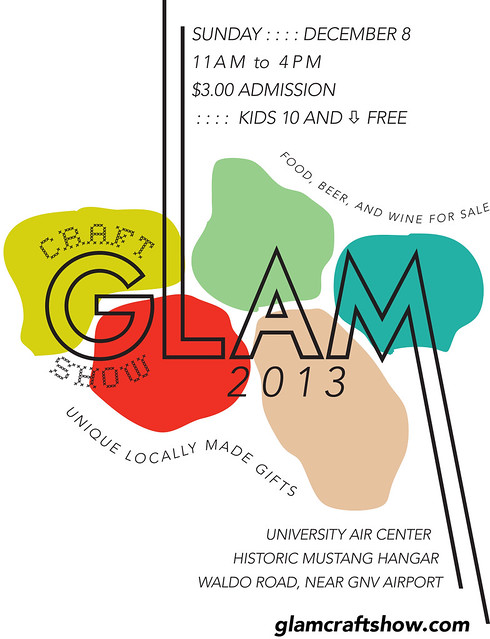 Glam Postcard 2013 Front