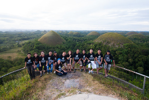 Chocolate Hills - viewpoint in Carmen, Bohol