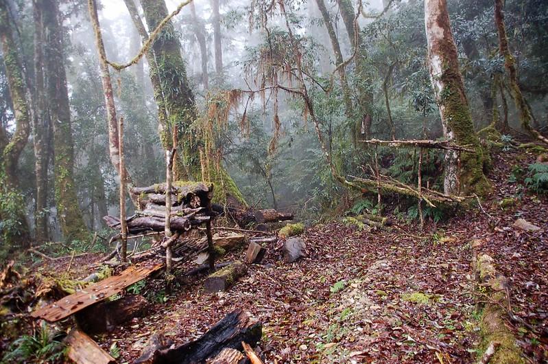 木堆架營地