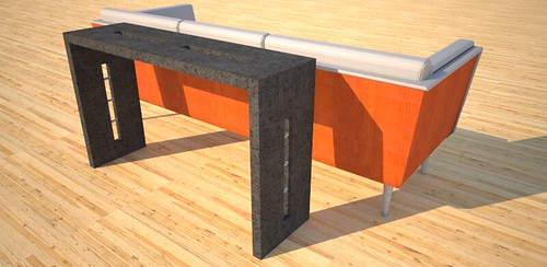 Black console tables designed and created by Designs by Rudy at 108.167.189.34