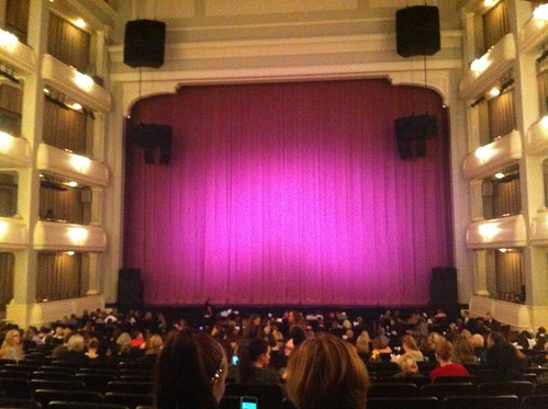 At Bass Performance Hall to watch the Ballet