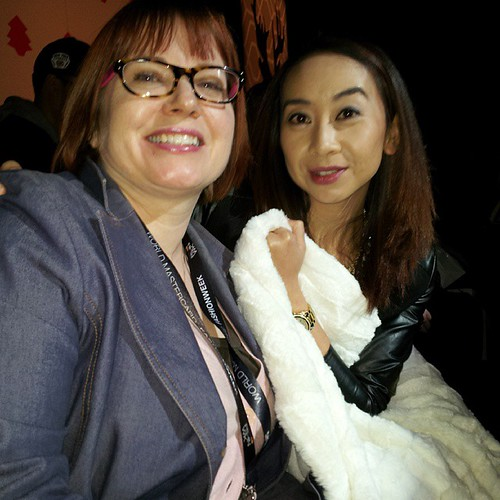 getting cozy with @beautycrazedcan and @targetcanada #wmcfw