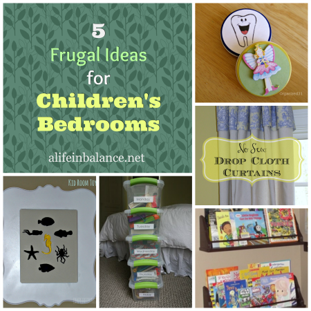5 frugal ideas for children's bedrooms