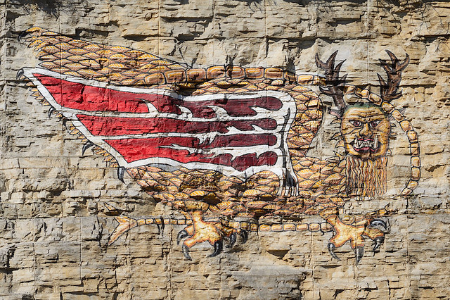Piasa Bird, Alton, Illinois, USA