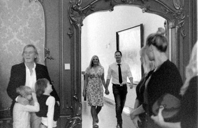 Merel en Ingmar trouwen