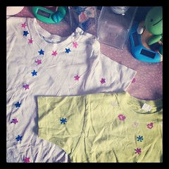 ♣ hauts de néné customiser enfin ♣ #creation #star #flower #etoile #fleur #ourlittlefamily #france