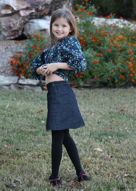 CC Chickadee skirt