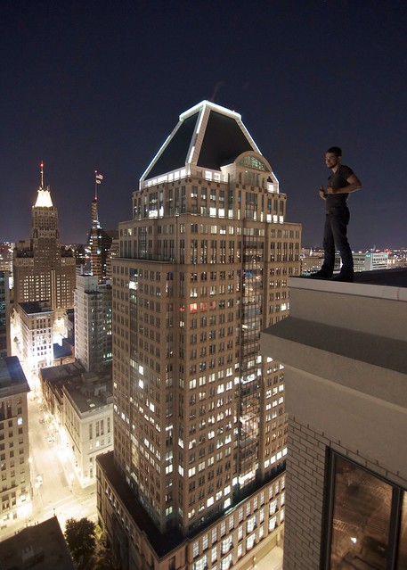 Baltimore rooftopping