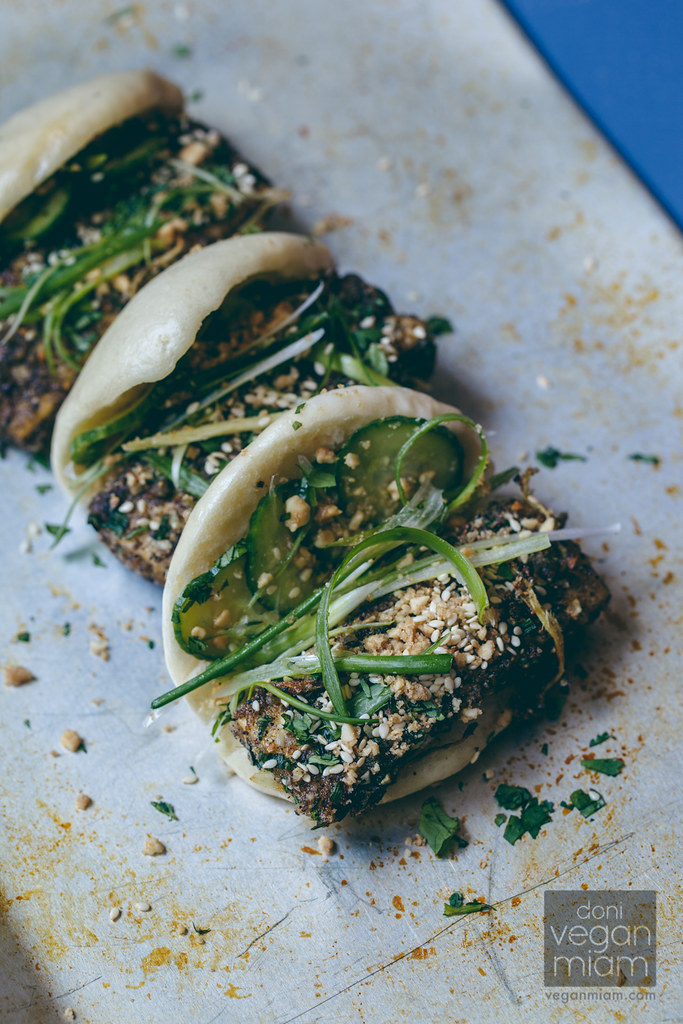 Salt + Pepper Gua Bao (Vegan)