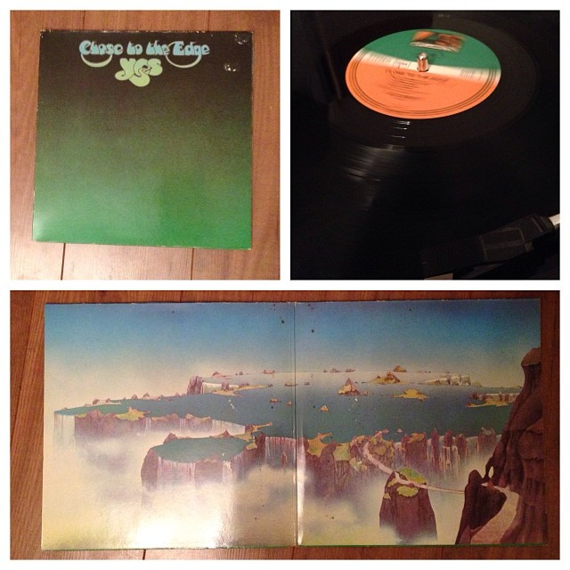 "151113_ #np ""Close to the Edge"" by Yes #vinyl"