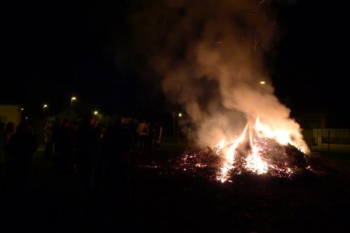 Lagerfeuer zum Martinstag