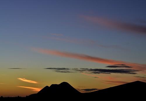sunset night pwpartlycloudy