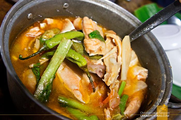 Sinigang na Miso at Aling Tonya's Seafood Dampa in Macapagal