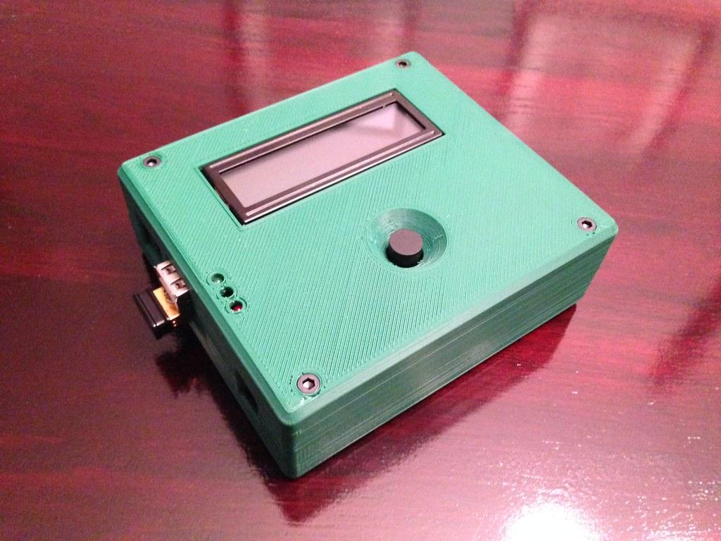 3D Printed BBQ controller housing