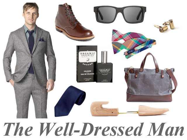the well-dressed man - what to get him for christmas