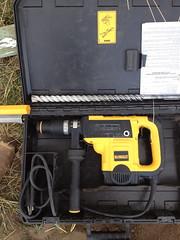 Dewalt Hammer & 1in Drill B.