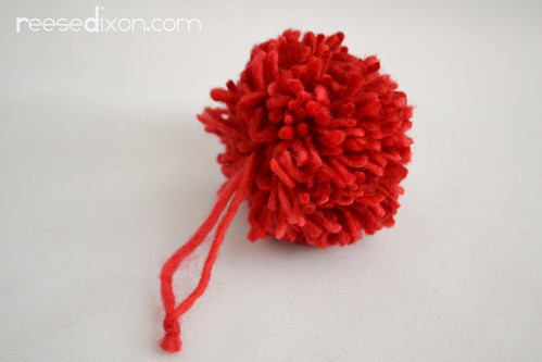 Pom pom tutorial Step 4
