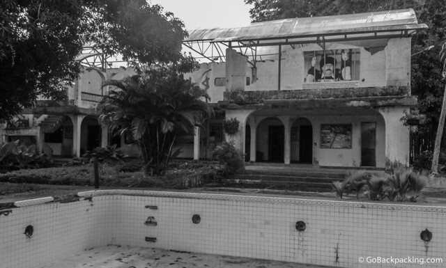 Escobar's old home lies in ruins
