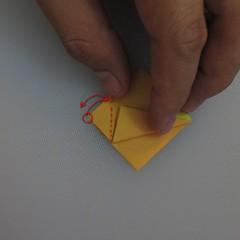 วิธีพับกระดาษเป็นดอกทิวลิป 010