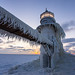 Frosty Lighthouse by BrianHawkins