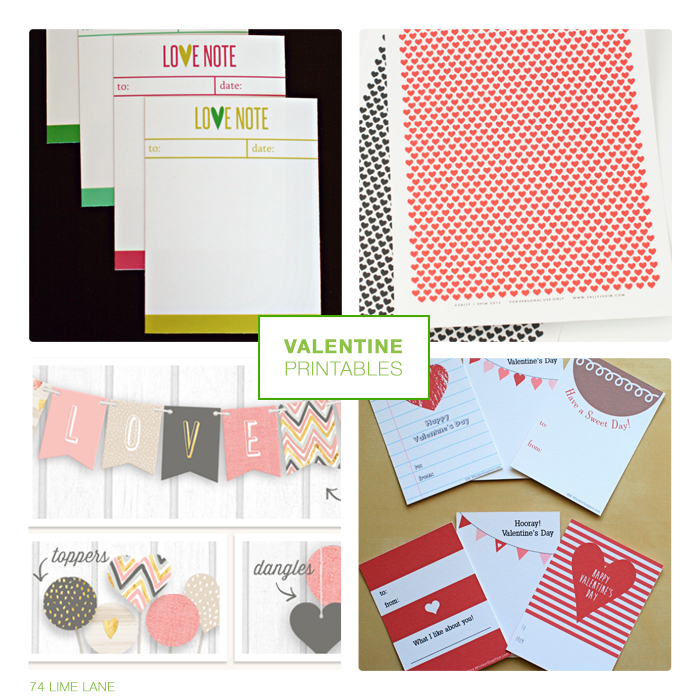printables // valentine's day
