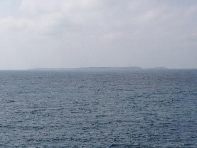 台華輪遠眺東吉島