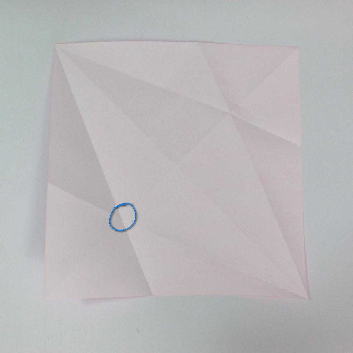 สอนการพับกระดาษเป็นลูกสุนัขชเนาเซอร์ (Origami Schnauzer Puppy) 007