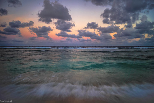 world ocean sunset sea sky sun beach clouds island long exposure colours pacific dusk south country nation wave third smallest nauru