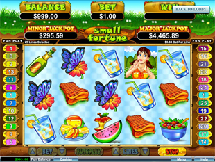 Small Fortune slot game online review