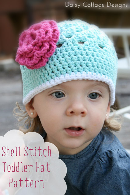 Free Pattern Open Weave Beanie Daisy Cottage Designs