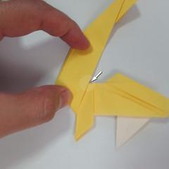 สอนวิธีพับกระดาษเป็นรูปลูกสุนัขยืนสองขา แบบของพอล ฟราสโก้ (Down Boy Dog Origami) 074