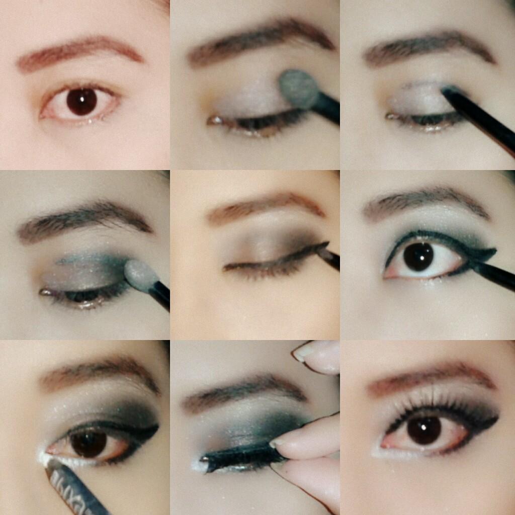 Tutorial Makeup Smokey Eyes Untuk Pemula | Hairsstyles.co
