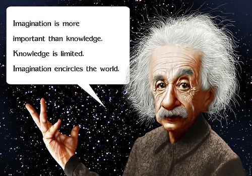Albert Einstein - Caricature