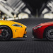 Jaguar XKR-S & V12 Vantage S Panorama by nbdesignz