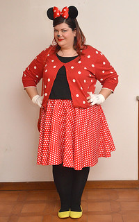 Oufit di Canevale: Minnie Mouse