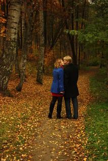 Фотогаллерея: Осенняя история любви