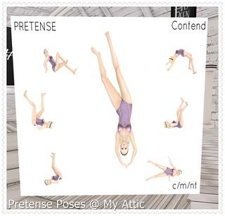 Pretense Poses  @ My Attic