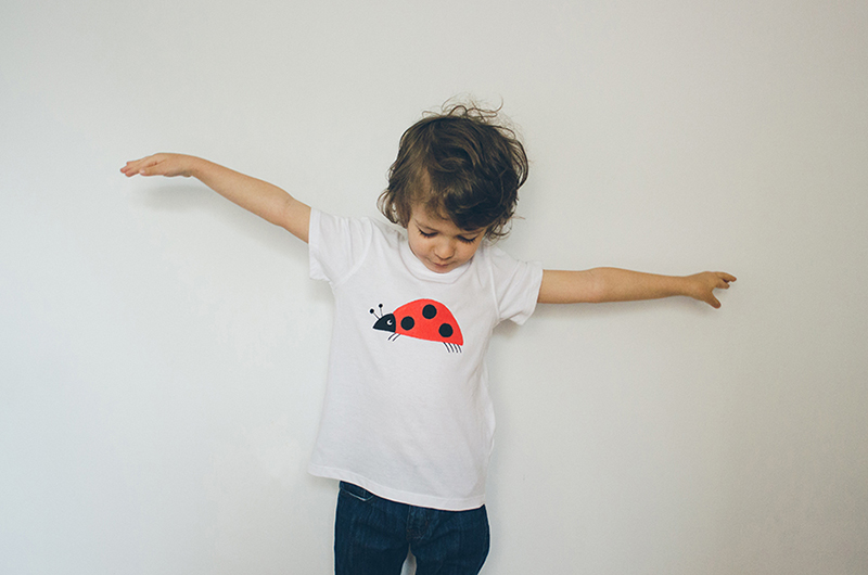 ladybug kiddo tee