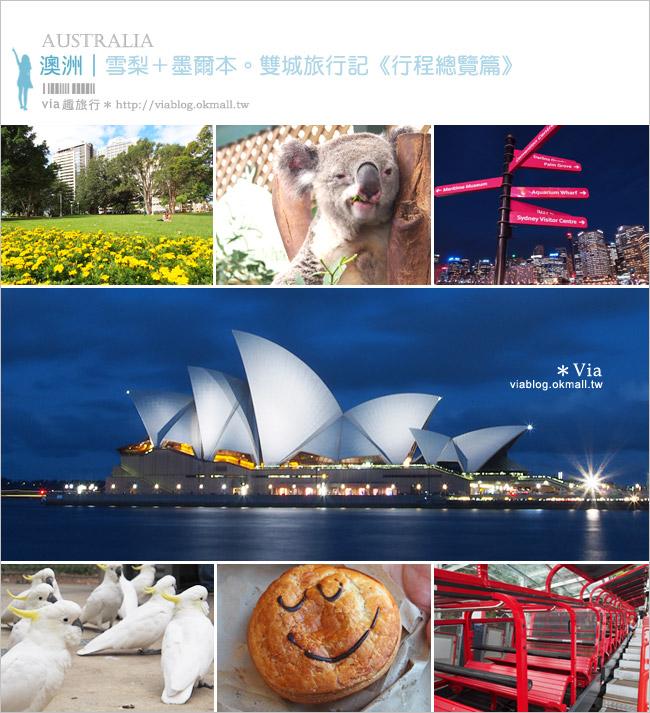 【澳洲旅遊】澳洲自由行/行程篇~精彩澳洲七日玩不夠之旅!