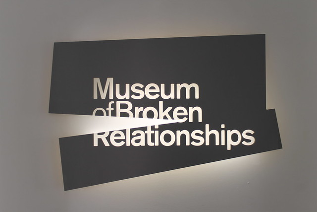 Museum of artifacts from past relationships.