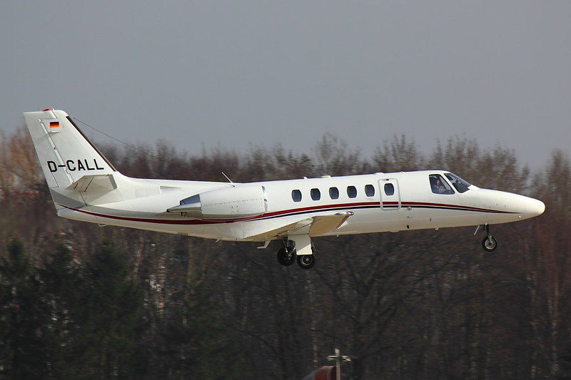 Air Hamburg - C550 - D-CALL (1)