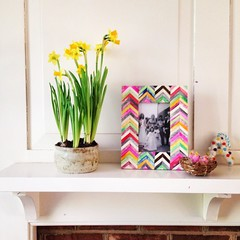 kitchen mantle in spring