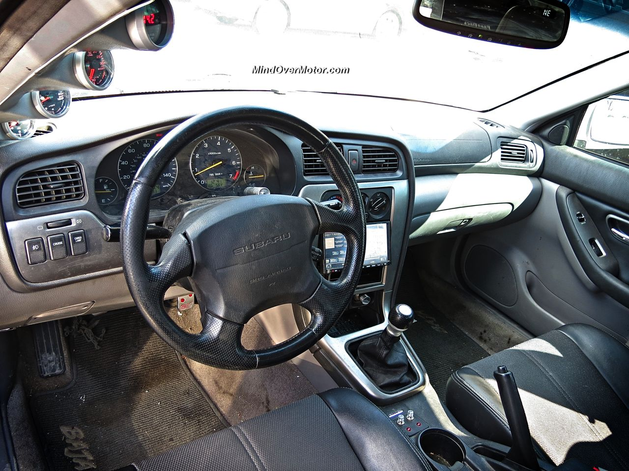 Subaru Baja From Hell Interior
